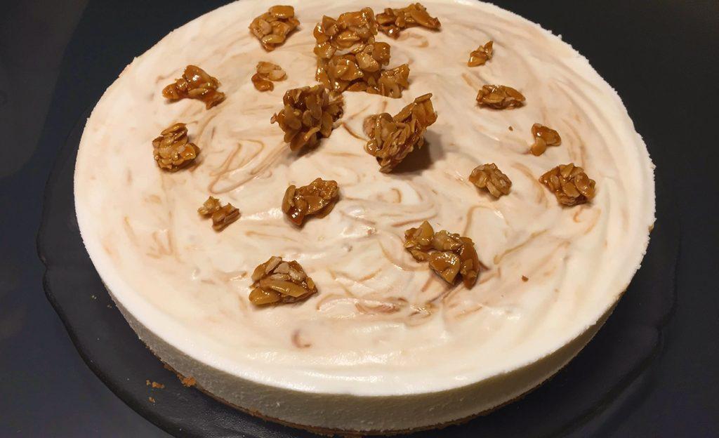 Cheesecake Crocante de Caramelo