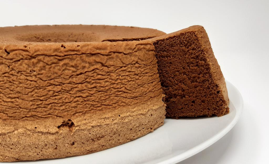 Fatia Chiffon de Chocolate